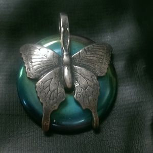 Sterling Silver Jewelry - Sterling Silver Butterfly Pendant